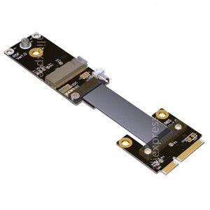 mPCIe Mini PCI-E tarjeta de red inalámbrica 2230 2242 extensión vertical de cable extensor para M.2 WIFI A.E NGFF interfaz Mini PCIe-WAN