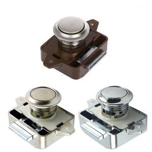 Camper Car Push Lock RV Caravan Boat Motor Home Cabinet Drawer Latch Button Locks For Furniture Hardware1