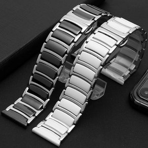 New smart watch with stainless steel ceramic bracelet adaptation between rice millet male huawei GT samsung apple China To report