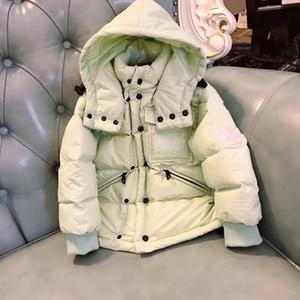 Детские двоичные куртки девочка ткань мальчики куртка осень зимние куртки для мальчиков детей с капюшоном теплые верхние одежды для мальчиков одежда