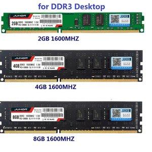 JUHOR DDR3 PC RAM 2GB 4GB 8 GB 1600MHz Desktop PC3-12800 1.5V 240pin Unterstützung Alle DDR3-Slots Motherboard Nicht-ECC-Speicher-RAM