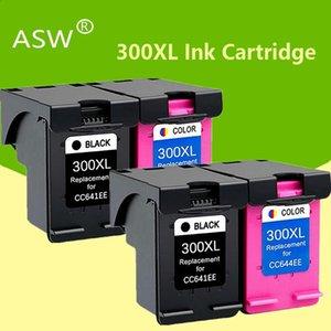 Чернильные картриджи ASW совместимы для картриджа 300XL 300 D1660 D2560 D2660 D5560 F2420 F2480 F2492 F4210 принтер
