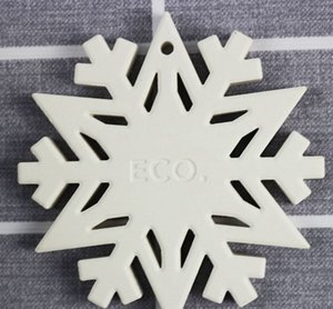 Noel ağacı yuvarlak yılbaşı kolye asılı dekorasyon KKA8263 diy 4 stilleri için yılbaşı kapalı ev dekorasyon snowflake