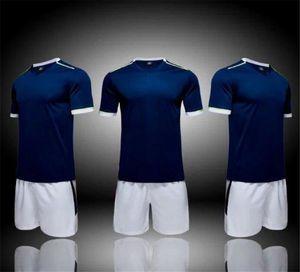fashion Team blank Soccer Jerseys Sets,2020 new custom soccer uniform,Training Running Soccer Wears Short sleeve Running With Shorts 011