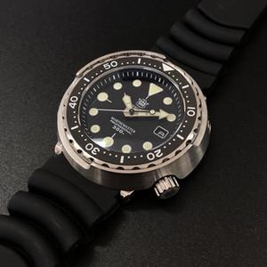 Steeldive Men Fashion Tuna Reloj Automático Buceo Sport Watch Reloj de acero inoxidable 300M Bisel de cerámica resistente al agua T200324