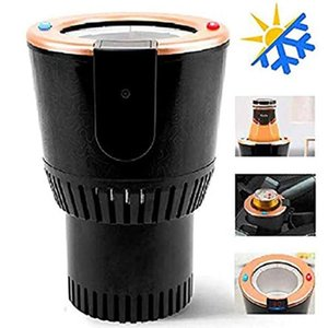 Car Cup Warmer Heater Cooler Auto Car Drinks Holder for Water Coffee Milk with Display Temperature Travel Road Tripper Outdoors