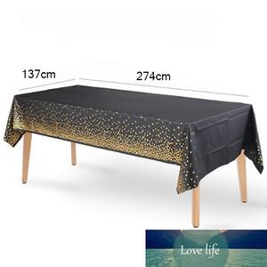 Tablecloth Birthday Desktop Dot Tablecloth Supplies Wedding Party Bronzing Party Decoration Disposable Pdtgu