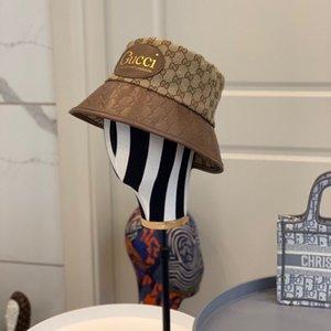 2020 Новый стиль мужские и женские шапки роскошный рыбак шляпа шапка мода дизайнерская буква открытая шляпа G006 бесплатная доставка