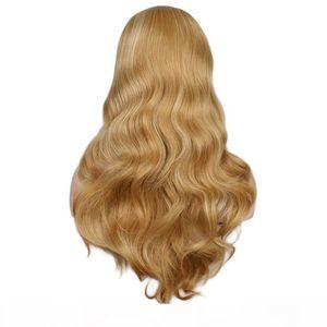 Turesolor парики женщины длинные волнистые натрийные смешанные белокурые парик черные красные термостойкие синтетические парики волос
