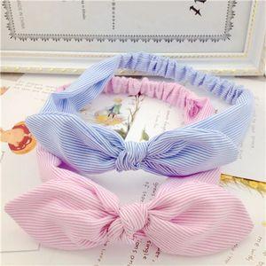 3 Styles Rabbit Ear Knot Turban Elastic Headband Hair Accessories Women Wrap Plaid Fabric Hair Band Girls Lady Striped Headwear