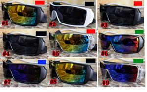 10 unids verano nueva moda colorido popular viento ciclismo espejo deporte gafas de gafas al aire libre gafas de sol gafas de sol para mujeres hombres gafas de sol envío gratis