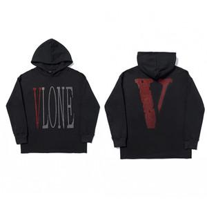 Vlone Hoodie Mens Hoodie Men Women Fashion Pullover Sweatshirt Mens Stylist Streetwear Long Sleeve Size S-XL