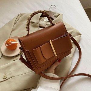 Yeni benzersiz tasarlanmış retro zincir kare çanta çanta zarif omuz çantası messenger genişliği 20 cm yükseklik 16 cm kalınlığı 7 cm