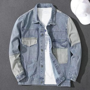 2020 Fashion Mens Denim Jacket Coat Men Women High Quality Casual Coats Blue Fashion Mens Jacket Stylist Outwear Winter Coat