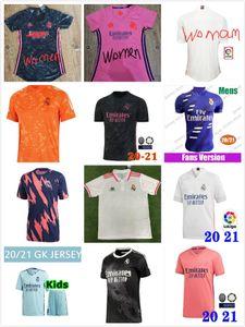 kids kit REAL MADRID jerseys 20 21 soccer jersey HAZARD SERGIO RAMOS BENZEMA VINICIUS camiseta football shirts uniforms kids 2020 2021