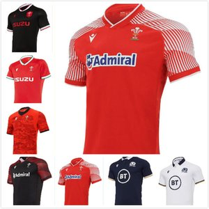 2020 2021 Galles Scotland Rugby Jersey 20 21 Casa Away Welsh Size S-5XL Camicia scozzese Maillot Camiseta Maglia