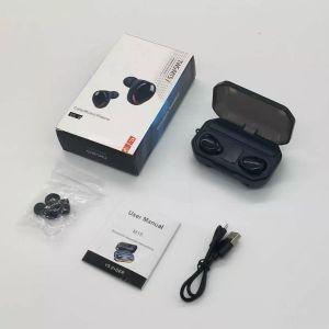 Factory Wholesale NEW M15 TWS 5.1 Wireless Earphone Stereo IPX7 Waterproof Earbuds 2000mAh LED Power Bank Flashlight Headphones