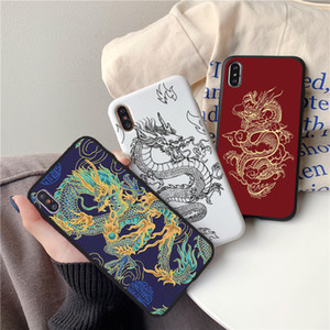 Abdeckung für Huawei Honor 10x 9A 9S X10 9C 10 20 9 Lite 30 30S PRO 10I 8A 8X 9X PLAY 4T NOVA 7 PRO Y6 Y7 Y9 2019 Dragon TPU Fall