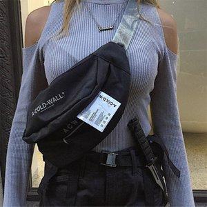 حقائب الخصر للمرأة 2019 تصميم أزياء العلامة التجارية جلد سيدة حزام سلاسل حقائب رسالة فاني حزمة أنثى الصدر حقيبة CROSSBODY حقائب C1026