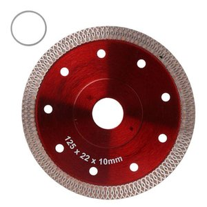 Red Hot Pressed Sintered Mesh Turbo Ceramic Tile Granite Marble Diamond Saw Blade Cutting Disc Wheel Bore Tools M4YD