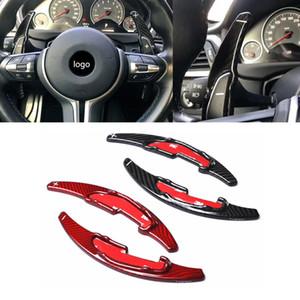 Volante in fibra di carbonio Shift Paddle Shifters per BMW F30 F10 GT Serie 3 Serie 5 Serie 5 F18 x1 m2 m3 m4 m5 m6 x5m x6m