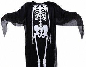 Halloween Kostüme Capes Erwachsene Kinder-Partei-Verein Geist Cosplay Menschliches Körperstruktur Print Kostüme Herren Damen Kinder Capes Cosplay bUoj #
