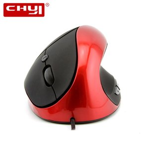 Chyi Wired Ergonomische Vertical Mouse 5D USB-optische Computer Gaming Mäuse 800/1200/1600 DPI Gesunde Spiel Mause für PC Laptop