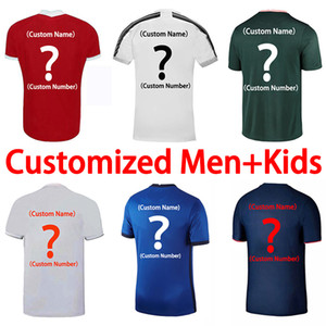 2020 21 22 Fans Version soccer jersey Customize Any Team Shirt Any Player Name football shirt Men adult+Kids uniforms