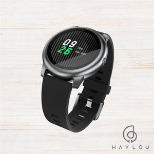 Original Haylou Solar LS05 Smart Watch Sport Metal Round Case Heart Rate Sleep Monitor IP68 Waterproof 30 Day Battery iOS Android