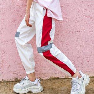 2020 New Fashion Female Hip Hop Pants High Waist Loose Harem Pants Women Slim Hip Hop Casual Trouser