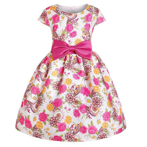 Kids Dresses Girl Princess Party Ball Gown Children Clothing Black Friday O6JQ