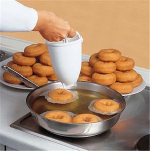 Vente en gros Donut Moule facile Fast Fast Donut Maker Manuel Distributeur de gaufres Donut Machine en plastique Lightweight WB1818