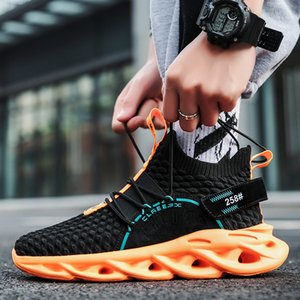 High Quality Breathable casual shoes men's outdoor sports run comfortable mesh surface summer excellent fashion jogging student shoes