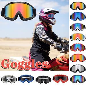 1pcs Winter Windproof snowboard Ski Glasses Goggles Outdoor Sports Ski Goggles UV400 Dustproof Moto Cycling Sunglasses#50