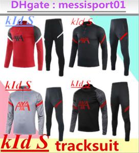 Kids Tracksuit 2020/2021 Crianças Treinamento Terno 2020 2021 Terno de Treinamento de Futebol