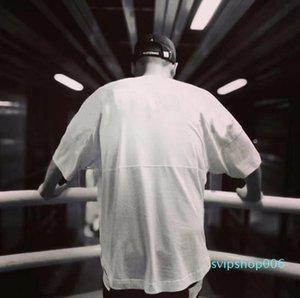 2021 Fashion Mens T Shirt Summer T Shirt High Quality Mens Stylist T Shirt Hip Hop Men Women Black Short Sleeve Tees Size M-XXL