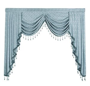 1 Piece European Valances For Living Room Waterfall Valances For Kitchen Modern Curtain qyltmW dh_garden