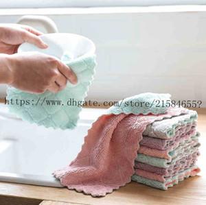 Оптом многоразовый микрофибр уборка ткани супер абсорбирующее блюдо полотенце дома кухонное масло и пыль чистый вайки тряпичная кухня привели