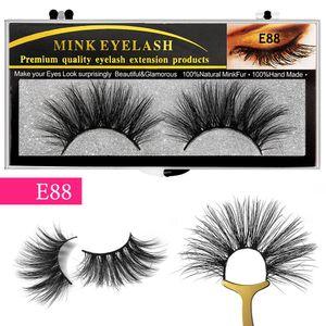 25mm Bulk 3d Lashes 6d Long Curly Eyelash Extension False Mink Eyelashes Wholesale Makeup