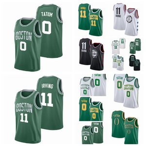 hommes jason 0 Kyrie Irving Tatum 11 Athletic Outdoor Appare Wear maillots de basket-ball