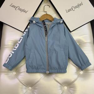 top quality kids clothes kids coat jacket trench coat children windbreakerW1CH