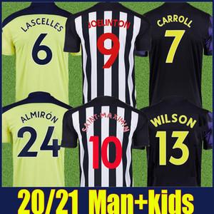 2020 2021 Las urracas Fútbol Joelinton Saint-Maximin fútbol jerseys kit de camisetas de Lascelles ALMIRON WILSON Urracas hombre niños