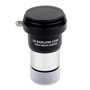 Metal Body 3X Barlow Lens for Astronomical Telescope Eyepieces 1.25\