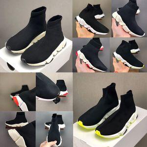 Balenciaga Kid Sock shoes Luxury Brand Designer shoes vêtements экипажа Носок Runner Кроссовки обувь Детская обувь Hight кроссовки загрузки Eur 24-39