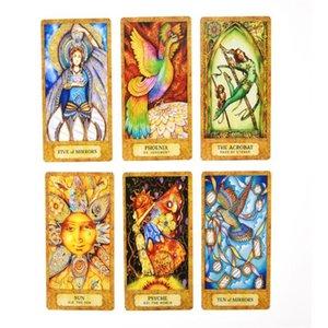 78 carte dei Tarocchi Deck Chrysalis inglese completa Oracle Family Party Giochi di società giocattolo N58b 78 carte bbyOuS sweet07