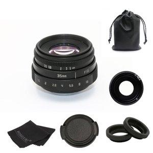 Nouvelle arrivée 35mm f1.6 C fujian Fixation de la caméra CCTV Lens II pour Sony NEX E-mount caméra faisceau adaptateur noir