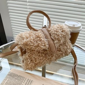 New Fashionable Girl Furry Small Bag Autumn and Winter 2020 New Fashion All-Match Shoulder Bag Popular Messenger