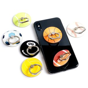 Ball Ring Buckle Bracket 360 Degree Rotating Lazy Desktop Bracket Cell Phone Holder Stand For iPhone