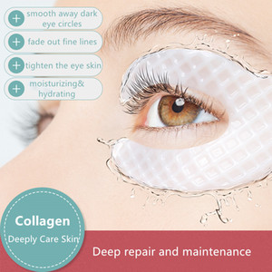 ILISYA Collagen Eye Mask Anti-Wrinkle Eye Patches Hydrating Moisturizing Smooth Crow's feet Eye Care