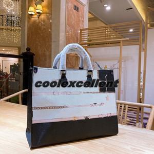 New Fashion Onthegoss Womens Retro Handbag Classic Pattern Genuine Leather Material High Quality Ladies Shoulder Bag